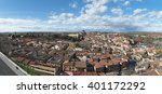the roofs of toledo. panoramic...   Shutterstock . vector #401172292