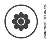 daisy icon | Shutterstock .eps vector #401187526