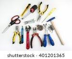 tools | Shutterstock . vector #401201365