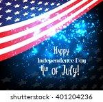 american flag  vector... | Shutterstock .eps vector #401204236