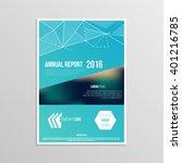 cover design for booklet annual ...   Shutterstock .eps vector #401216785
