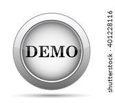 demo icon. internet button on... | Shutterstock . vector #401228116