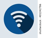 wifi icon  isolated vector flat ...