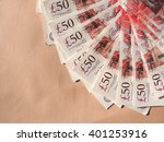 Fifty British Pound Banknotes...