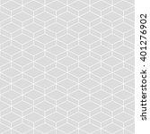 cubes seamless pattern... | Shutterstock .eps vector #401276902