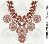 vector vintage collar | Shutterstock .eps vector #40128703
