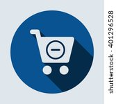shopping icon isolated vector...