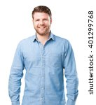 young businessman happy...   Shutterstock . vector #401299768