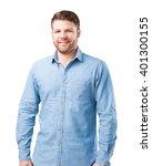 young businessman happy...   Shutterstock . vector #401300155