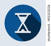 hourglass icon  isolated vector ...