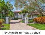 southwest florida concrete... | Shutterstock . vector #401331826