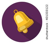 bell flat icon | Shutterstock .eps vector #401333122