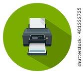 printer icon | Shutterstock .eps vector #401333725