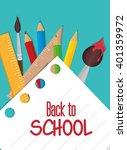 back to school design  | Shutterstock .eps vector #401359972