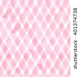 Diagonal Gingham Of Pink Color...