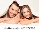 close up portrait of pretty man ... | Shutterstock . vector #401377936