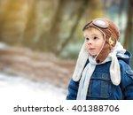 a child enjoying nature. a... | Shutterstock . vector #401388706