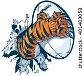 vector cartoon clip art... | Shutterstock .eps vector #401403058