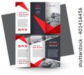 Brochure design, brochure template, creative tri-fold, trend brochure | Shutterstock vector #401416456
