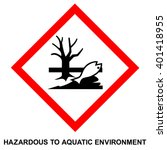 ghs hazard pictogram  ... | Shutterstock .eps vector #401418955