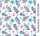 seamless pattern with... | Shutterstock . vector #401423188