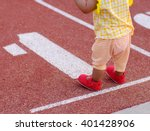 baby ready to walking first... | Shutterstock . vector #401428906