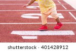 baby ready to walking first... | Shutterstock . vector #401428912
