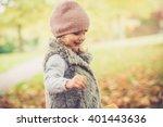 beautiful young girl having fun ...   Shutterstock . vector #401443636