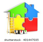 3d rendering illustration.... | Shutterstock . vector #401447035
