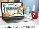 inventing compose discover... | Shutterstock . vector #401482102