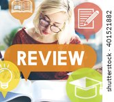 Small photo of Review Assessment Auditing Evaluate Concept
