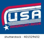 usa made | Shutterstock .eps vector #401529652