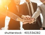 group of business people... | Shutterstock . vector #401536282