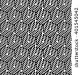 seamless hexagons pattern. 3d... | Shutterstock .eps vector #401545042