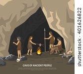 color illustration showing... | Shutterstock .eps vector #401626822