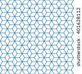 geometric line pattern. | Shutterstock .eps vector #401628112