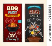 barbecue party vertical... | Shutterstock .eps vector #401630596