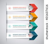 infographic template. modern... | Shutterstock .eps vector #401637616