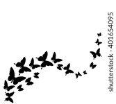 Stock vector butterflies design 401654095