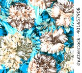 Floral Pattern With Graphic...