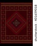 luxurious vintage oriental... | Shutterstock .eps vector #401659018