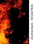 fire background | Shutterstock . vector #401667826