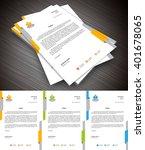 vector illustration of creative ... | Shutterstock .eps vector #401678065