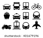 vehicle and transportation icon ... | Shutterstock .eps vector #401679196