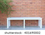 white chairs set up in front of ...   Shutterstock . vector #401690002