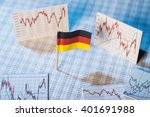 german flag with rate tables... | Shutterstock . vector #401691988