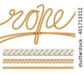 vector illustration text as a... | Shutterstock .eps vector #401713312