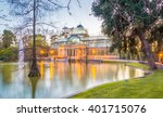 the crystal palace  palacio de... | Shutterstock . vector #401715076