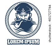 Captain Logo Or Sailor Tattoo...