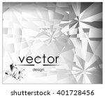 vector illustration crystalline ... | Shutterstock .eps vector #401728456